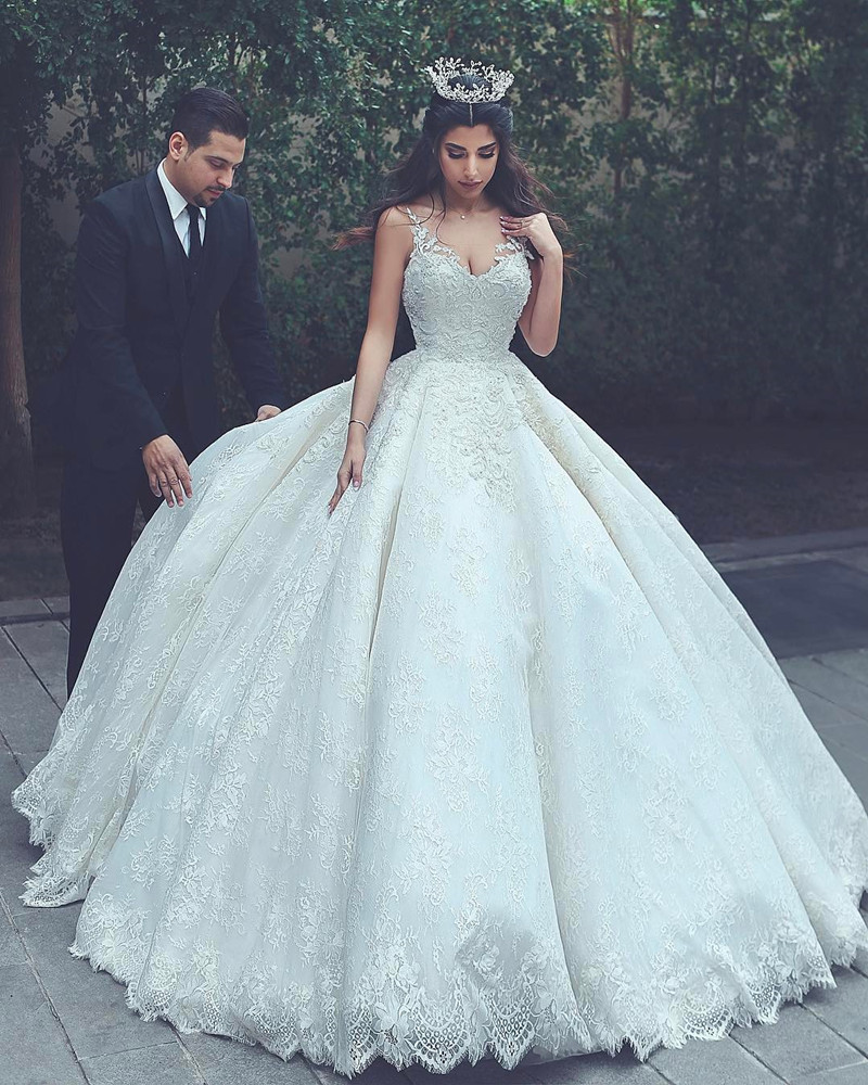 Cheap Wedding Dresses 2017,lace Wedding Gowns,princess